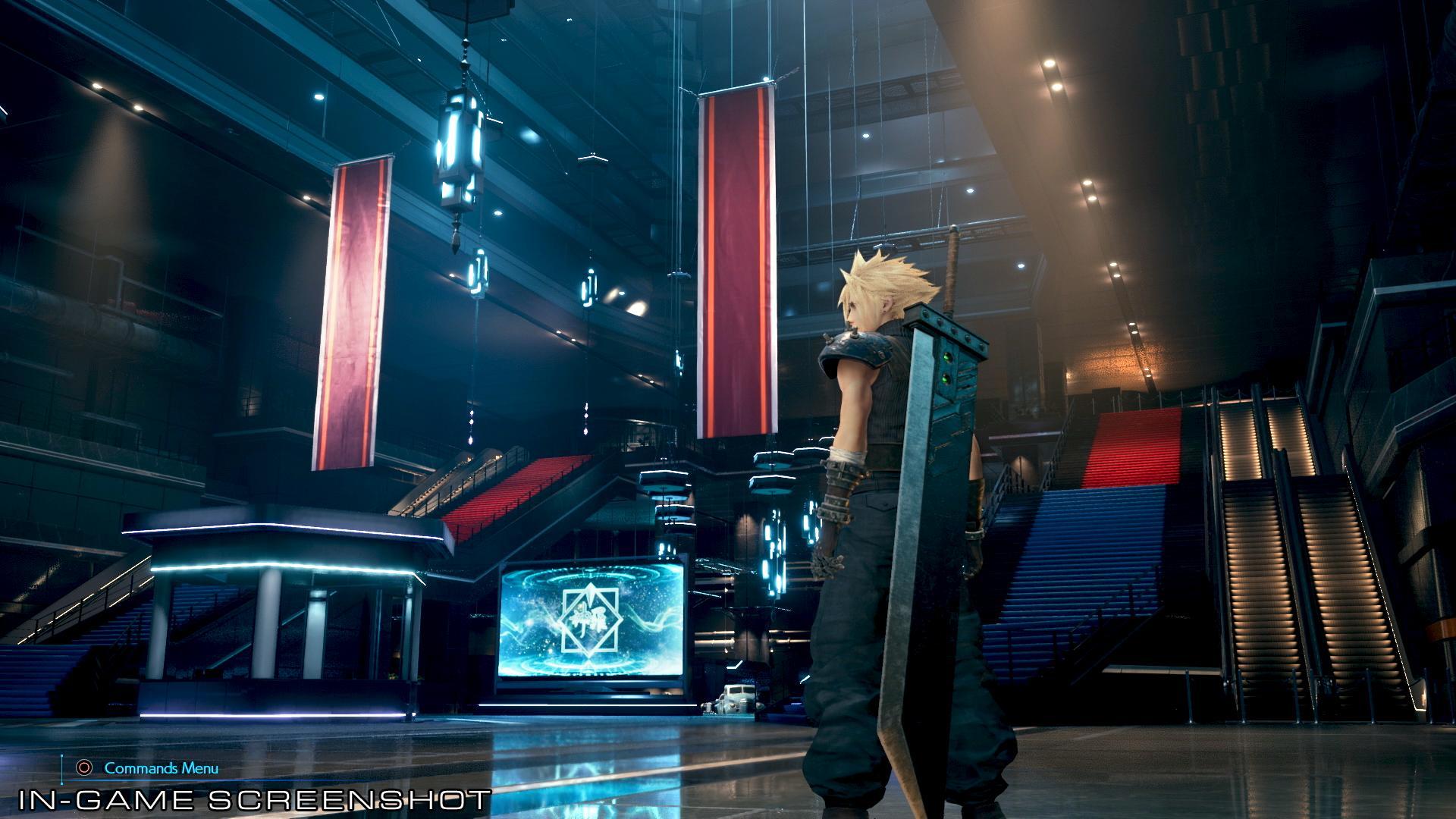 Final Fantasy VII Remake ganha arte e screenshot do prédio da Shinra