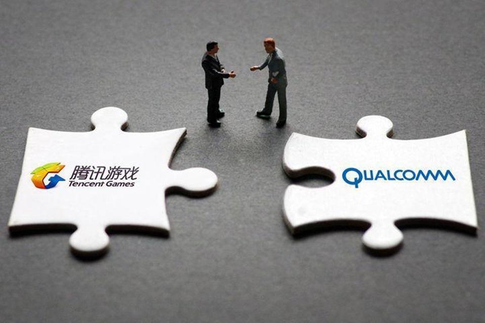 Cooperação entre Qualcomm e Tencent inclui dispositivos gamers com 5G