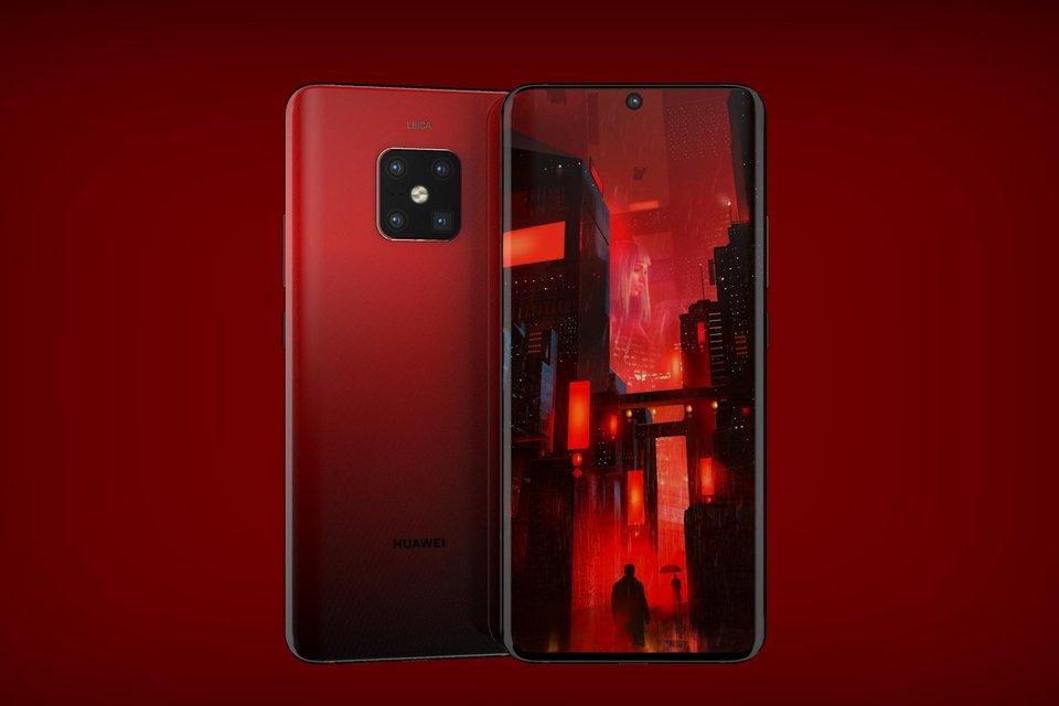 Huawei registra marcas relacionadas a câmera e tela