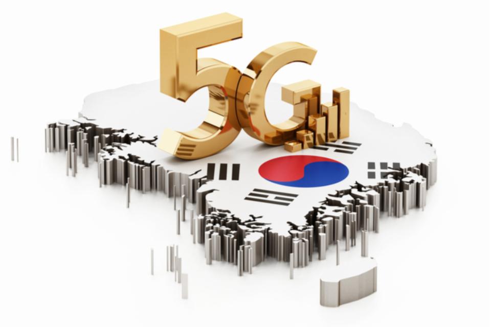 Coreia do Sul tem quase 1,5 milhão de usuários com 5G