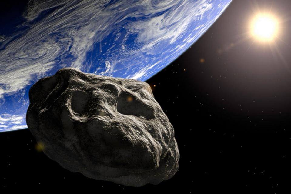 Imagem de: Rocha espacial com meio km de diâmetro passará pertinho da Terra no sábado