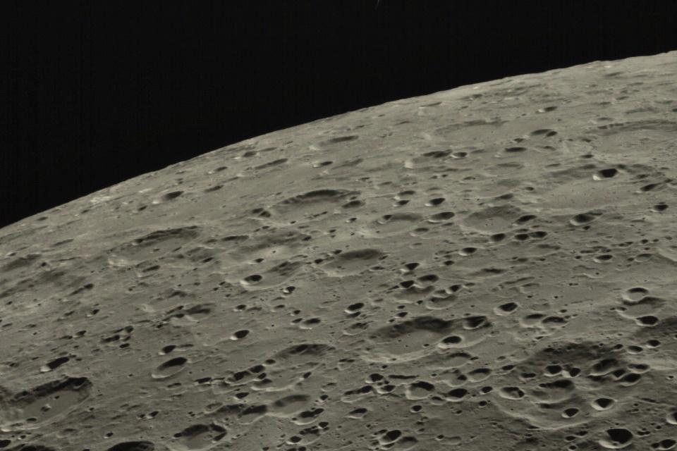 Microssatélite chinês se espatifou no lado oculto da Lua