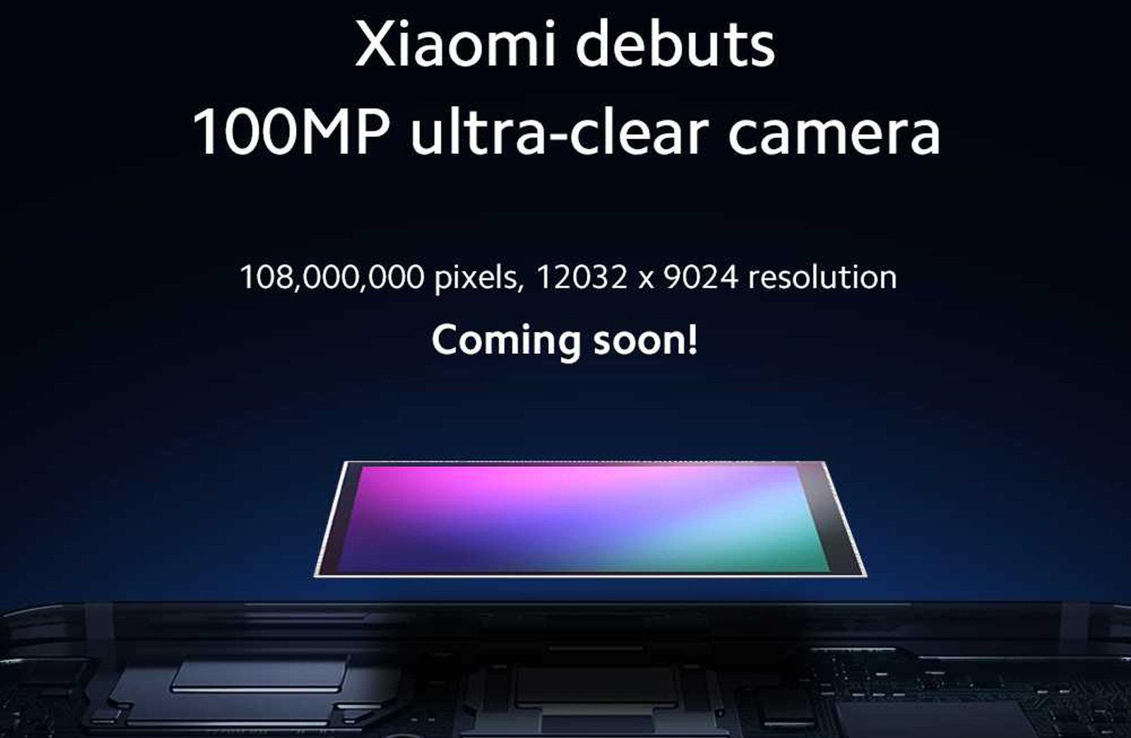 Xiaomi anuncia detalhes da câmera de 64 MP durante conferência em Pequim