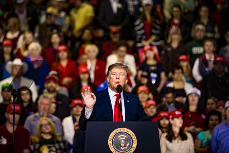 Trump acusa Google de interferir nas eleições presidenciais dos EUA