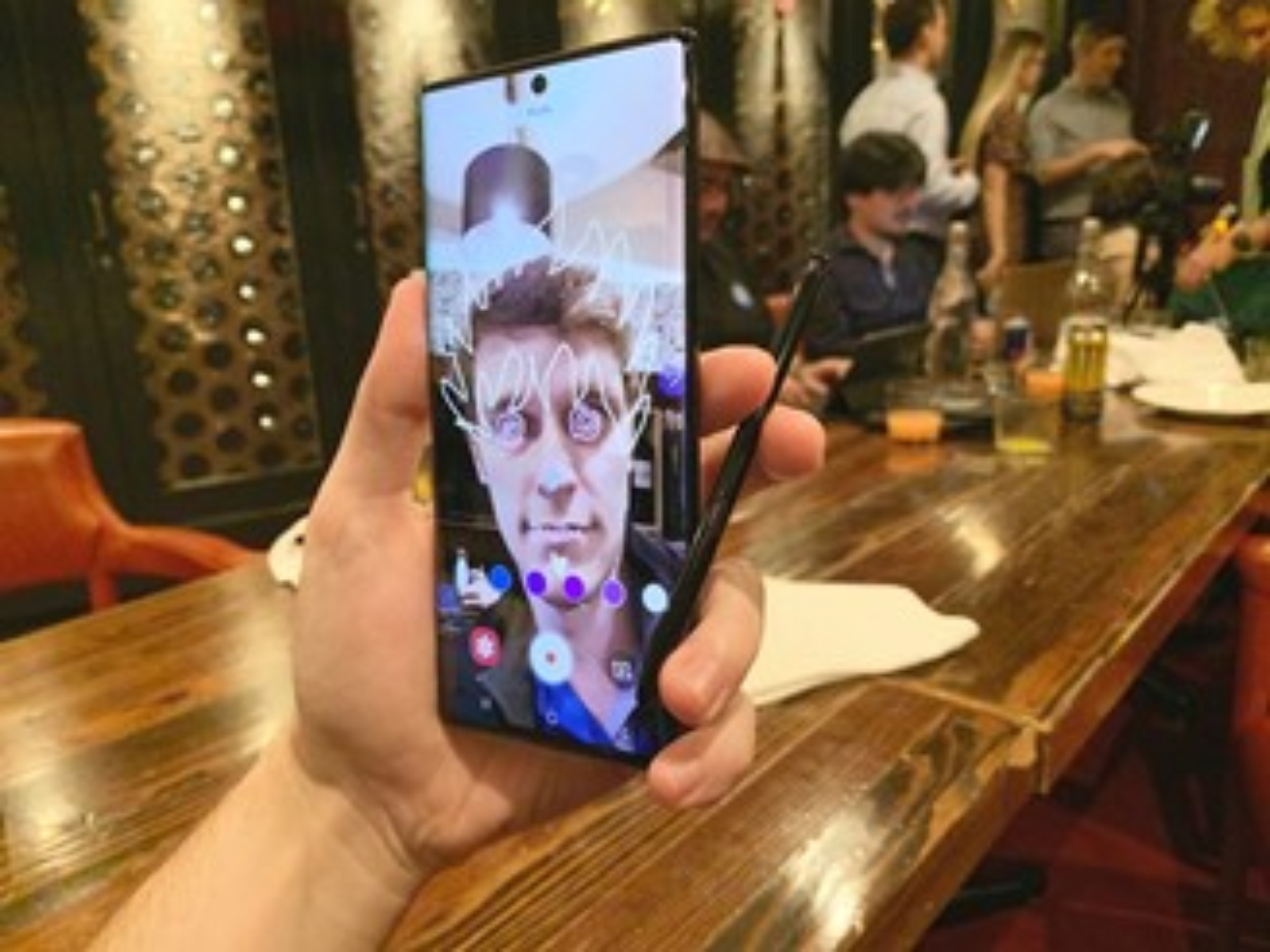 Samsung Galaxy Note 10+ AR