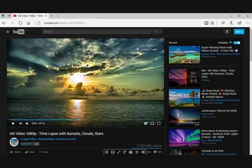 Microsoft cria recurso para poupar bateria do notebook com vídeos online