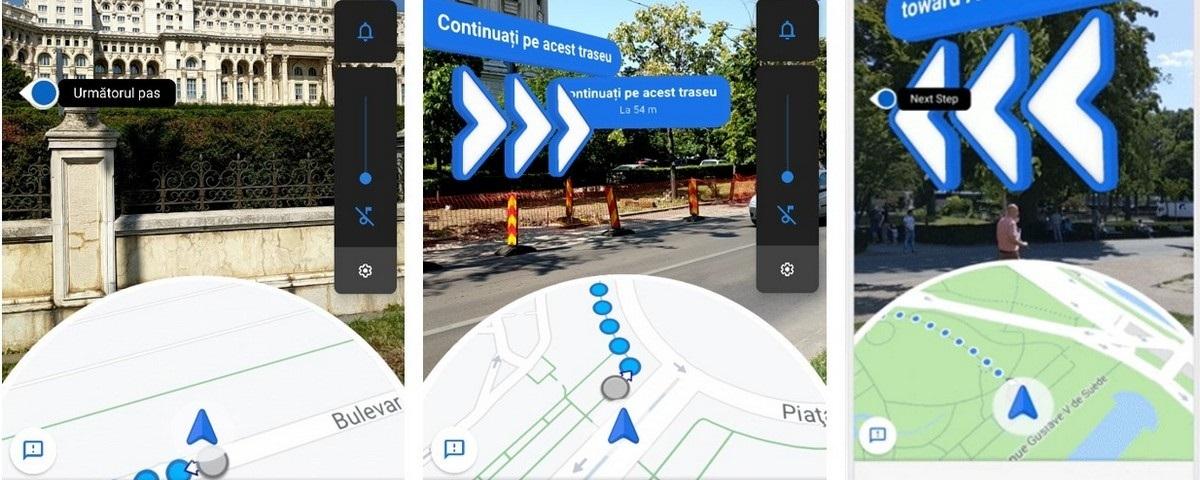 Imagem de: Realidade Aumentada do Google Maps já está disponível para Android e iOS