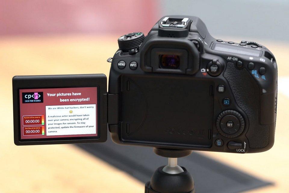 Câmeras digitais DSLR também são vulneráveis a malware