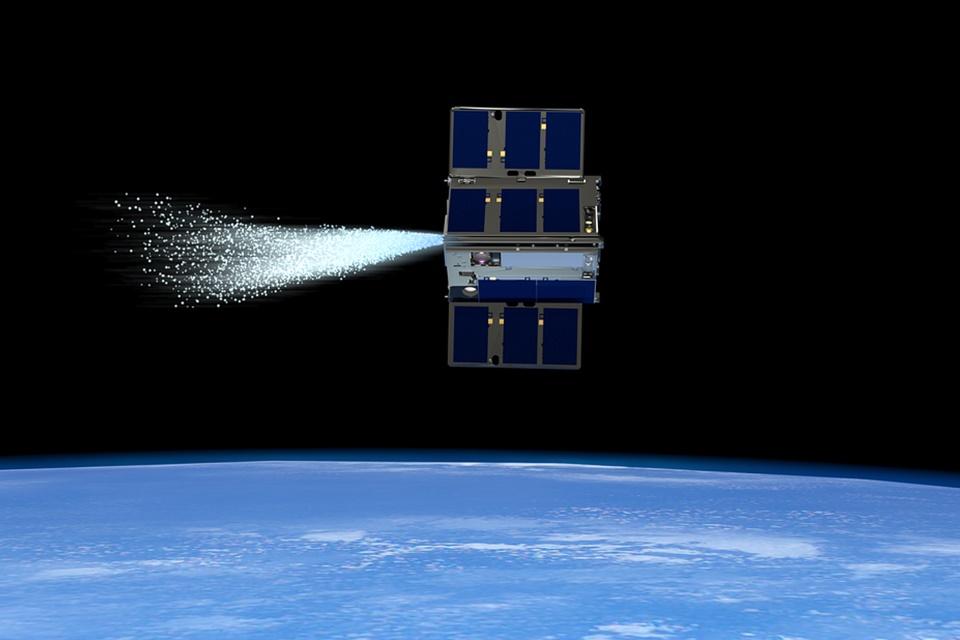 Satélites da NASA 'movidos a vapor' fazem manobras sincronizadas no espaço