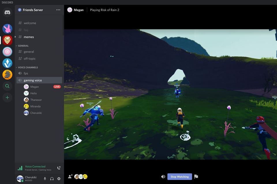 Discord anuncia o Go Live, ferramenta de streaming para até 10 amigos
