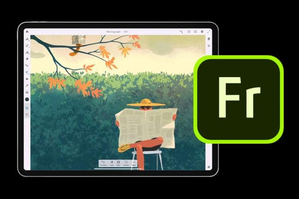 Adobe Fresco traz ferramenta digital que permite pinturas realistas em iPad