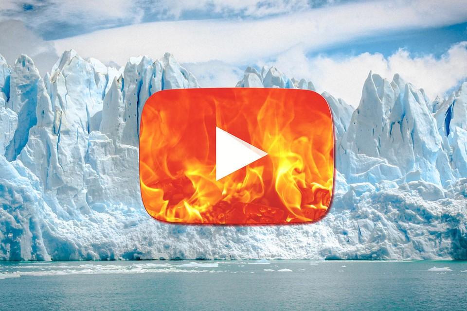 Vídeos com mentiras negando o aquecimento global dominam o YouTube