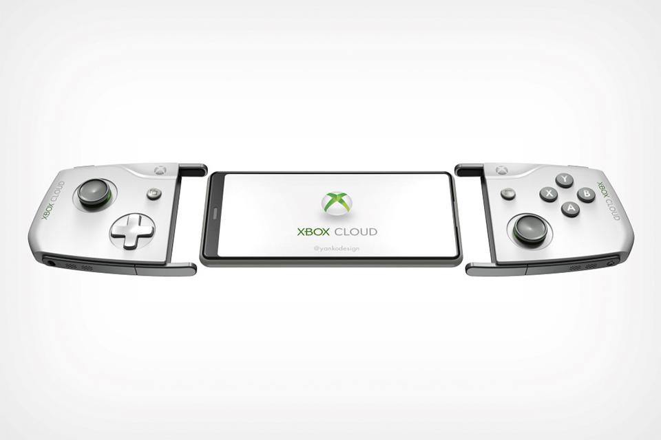Microsoft registra patente de controle de Xbox para celular