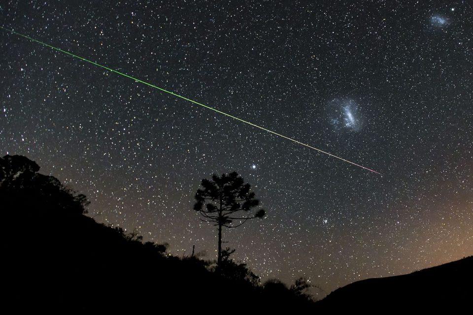 Chuva de meteoros Perseidas resulta em belas imagens; veja as fotos