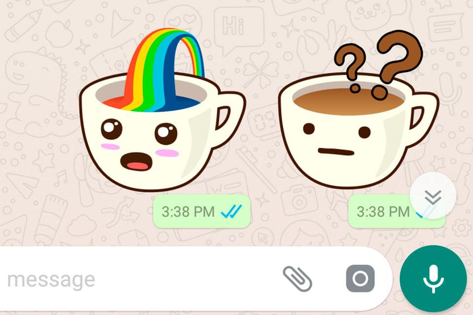 WhatsApp terá stickers e imagens agrupadas em versão Web