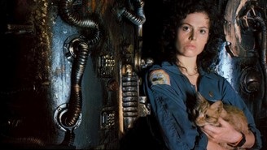 Sigourney Weaver em Alien - 1979 (Fonte: IMDb/Reprodução)