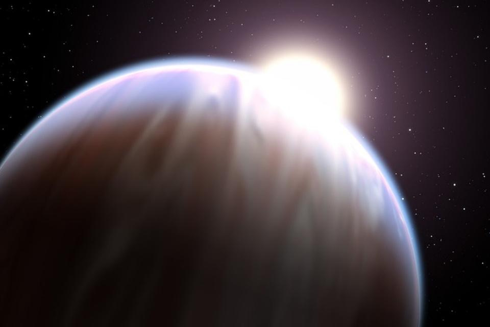 Planeta-bebê pode ter colidido com Júpiter e transformado o gigante gasoso