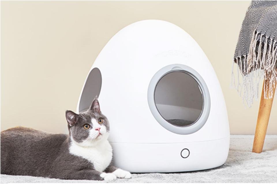 Xiaomi anuncia casinha inteligente para pets com design futurista