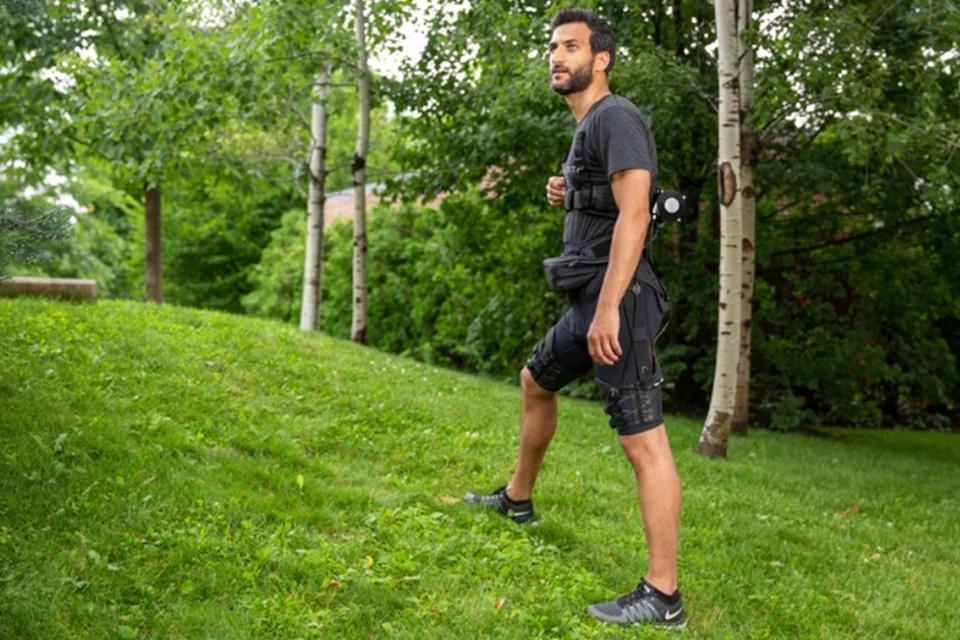 Cientistas criam bermuda robótica que ajuda em corridas e caminhadas