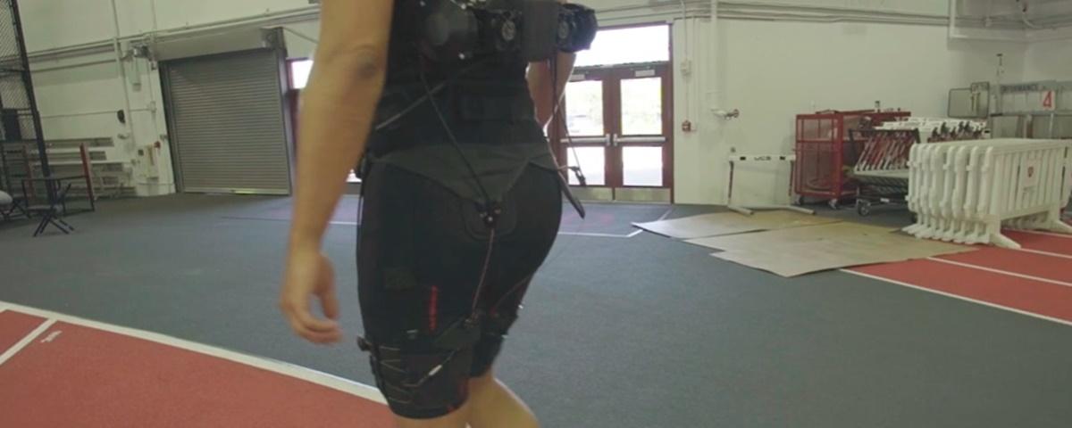 Imagem de: Cientistas criam bermuda robótica que ajuda em corridas e caminhadas
