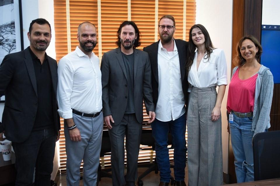 Série de Keanu Reeves em São Paulo tem informações divulgadas