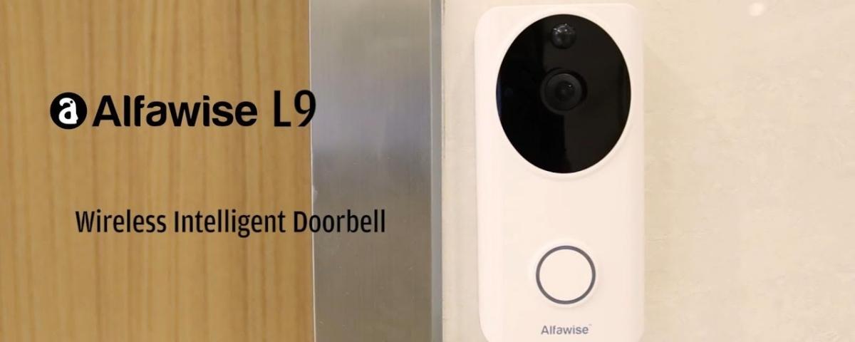 Imagem de: Alfawise L9: campainha inteligente tem câmera Full HD e app para celular
