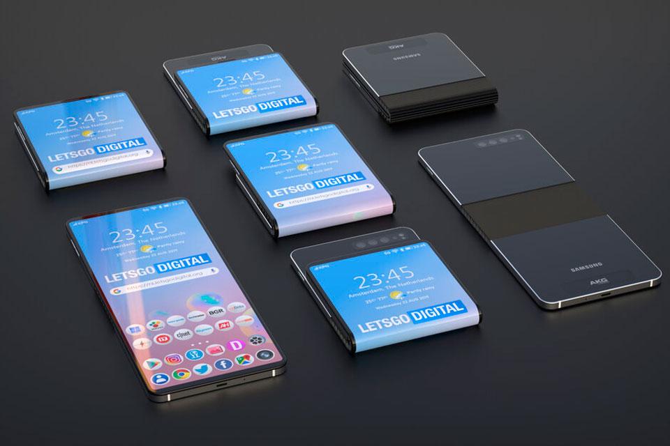 celulares do futuro dobráveis