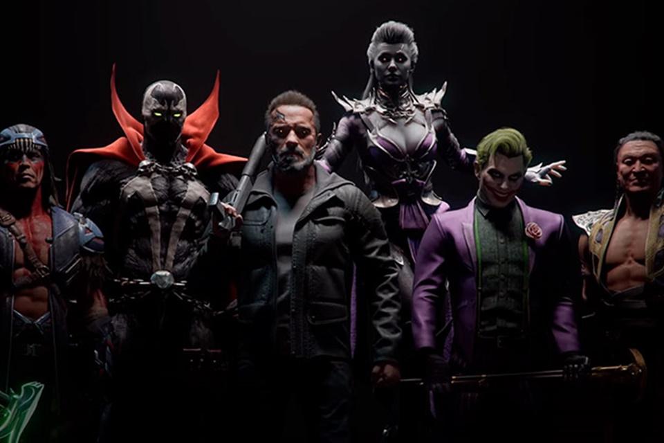 Mortal Kombat 11: DLC trará Coringa, Exterminador, Spawn e outros heróis
