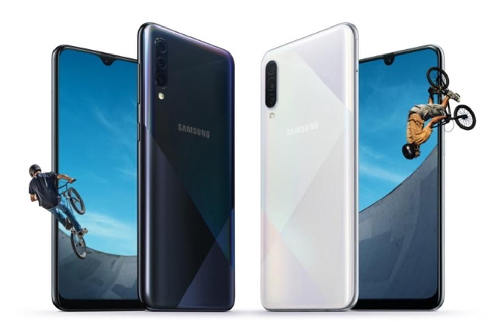 Galaxy A30s e A50s são oficialmente lançados pela Samsung