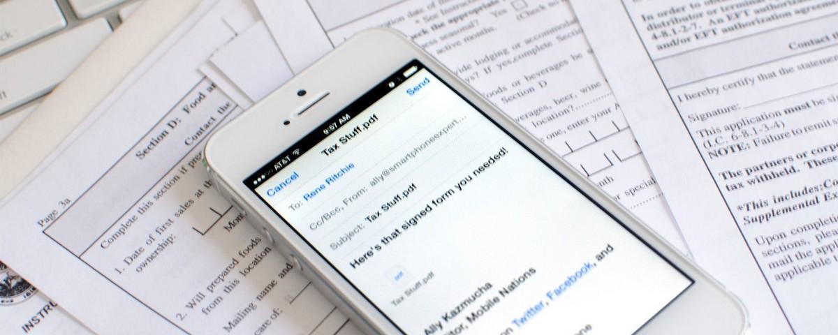 Google Drive agora permite preenchimento de PDFs
