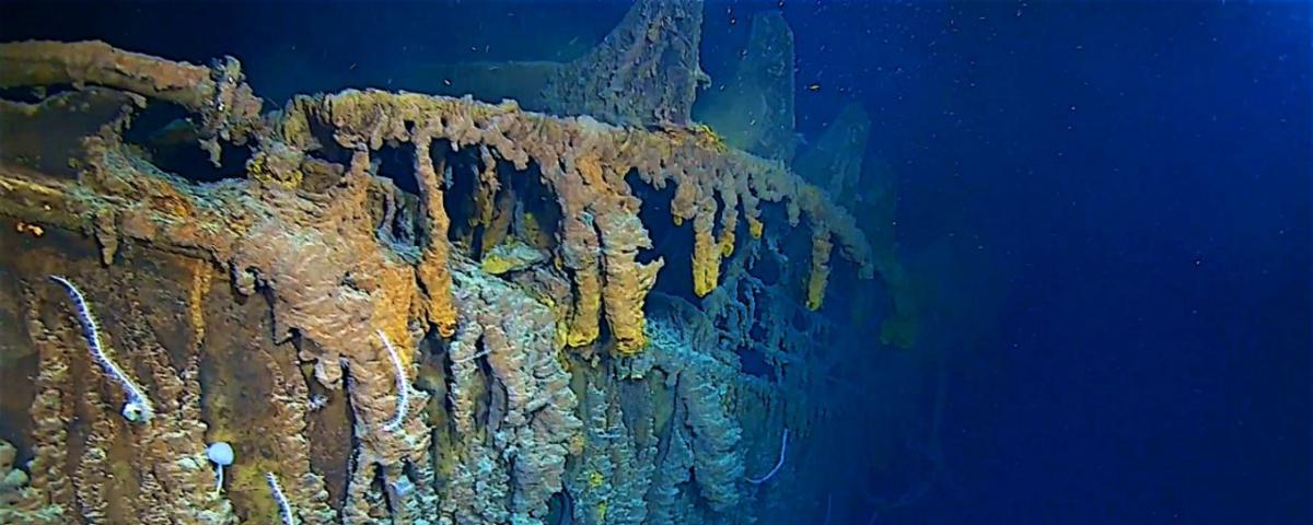 Imagem de: Titanic é registrado pela 1ª vez em 4K; veja como ele está hoje