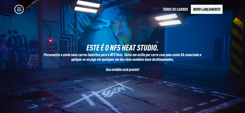NFS Heat Studio APK - Imagem 1 do software