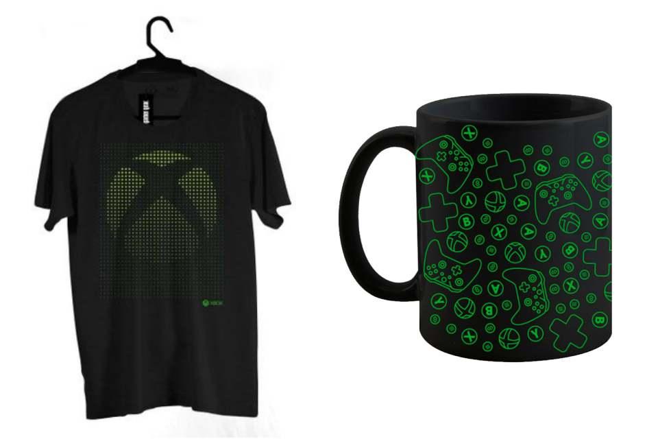 Loja oficial de roupas com a marca Xbox chega ao Brasil