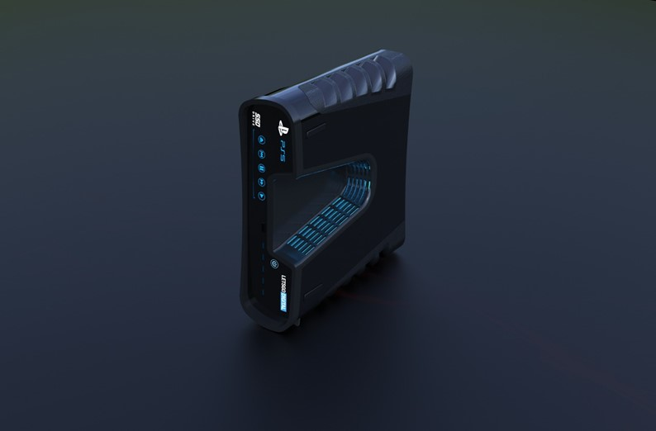 PlayStation 5: portal inglês renderiza em 3D o conceito do dev kit