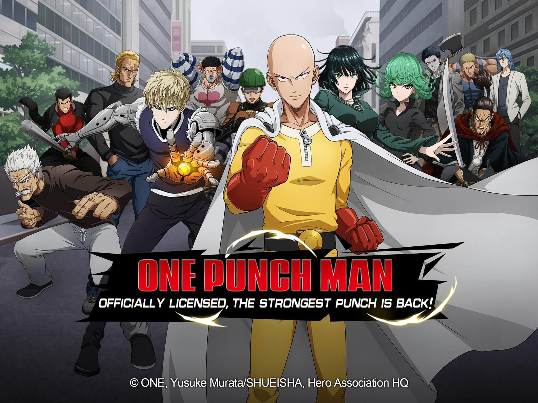 One Punch Man: Road to Hero IOS - Imagem 1 do software