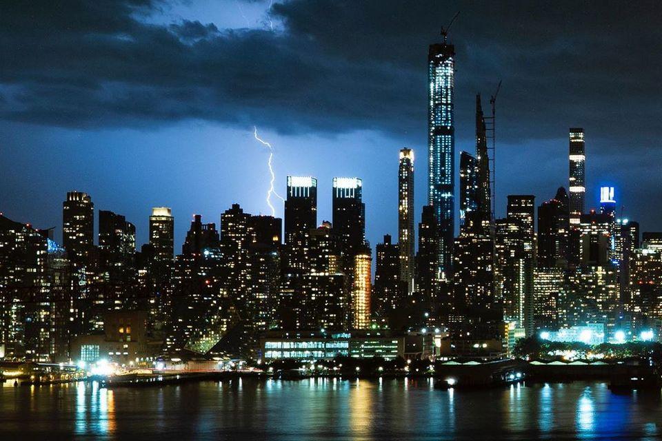 Fotógrafo está criando um timelapse de 30 anos do horizonte de Nova York