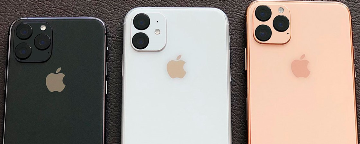 iphone 11 foto mostra poss vel visual dos novos celulares. Black Bedroom Furniture Sets. Home Design Ideas