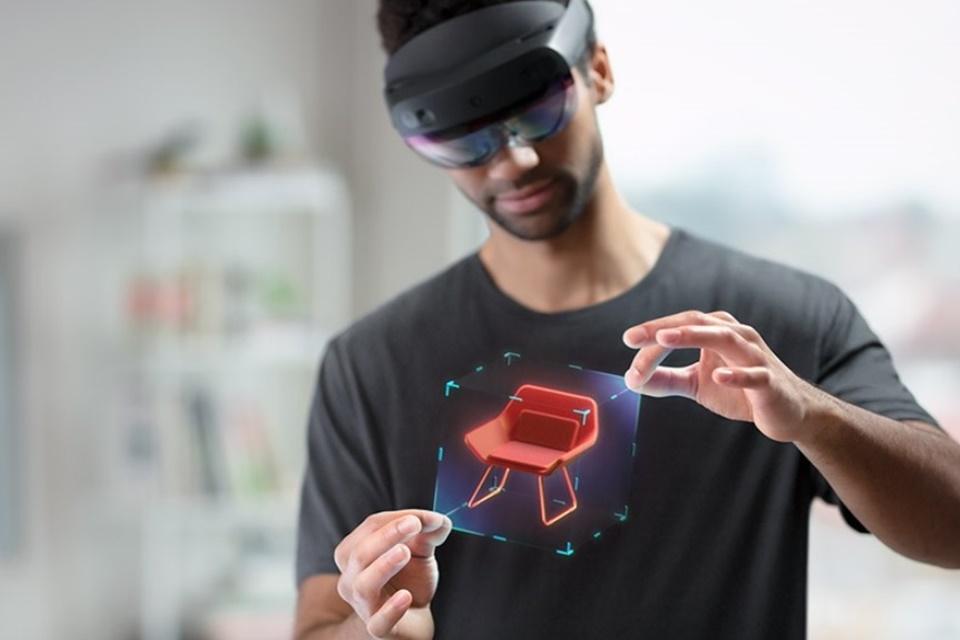 Vendas do Microsoft HoloLens 2 começam em setembro