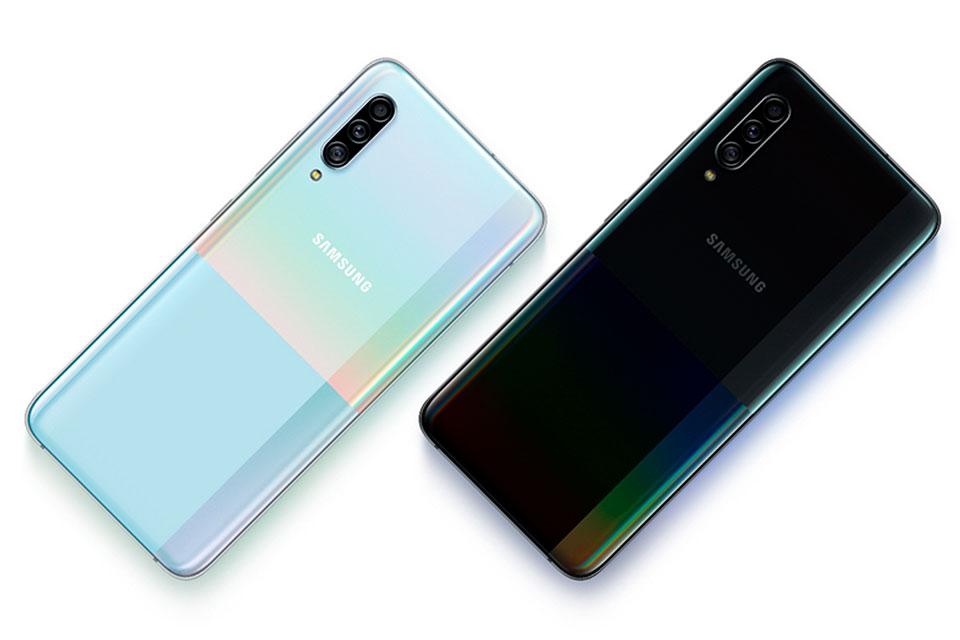 Samsung apresenta o Galaxy A90 5G com câmera de 48 MP e Snapdragon 855