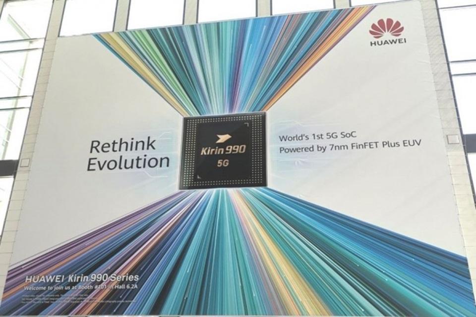 Chip Kirin 990 5G da Huawei com variante 4G é anunciado