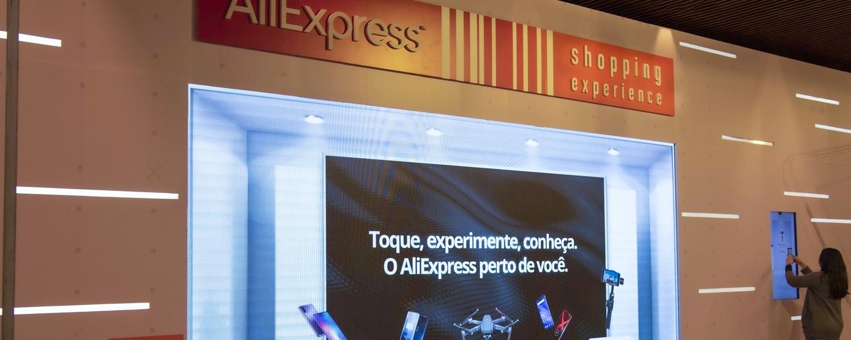 Imagem de: Aliexpress abre primeira loja física no Brasil