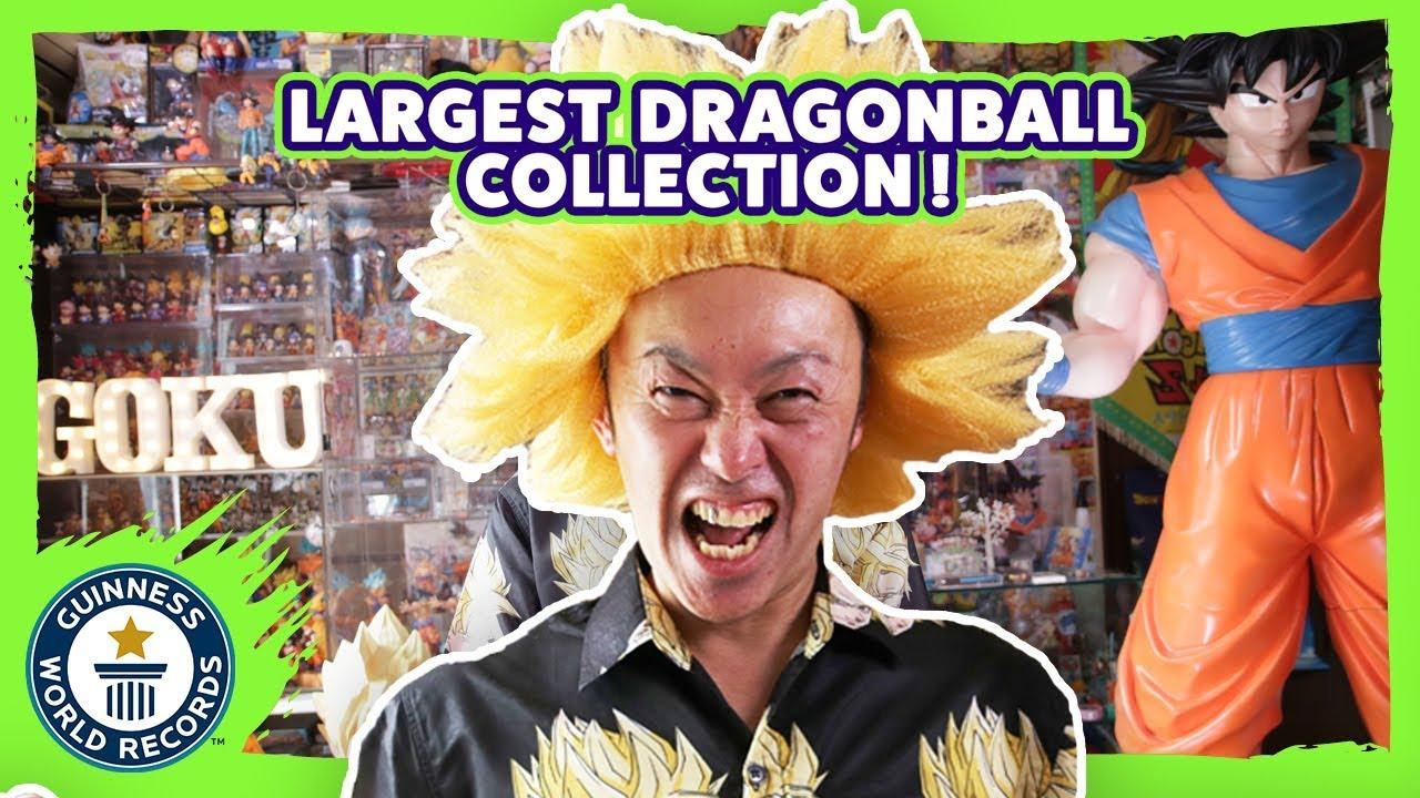 Homem abandona emprego para colecionar itens de Dragon Ball
