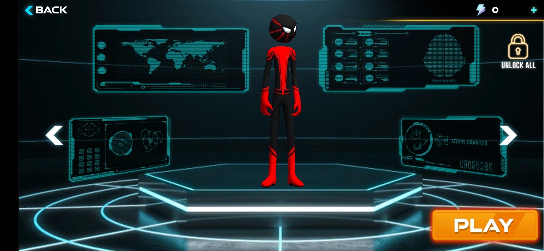 Spider Hero: Stickman Rope Warrior - Imagem 1 do software
