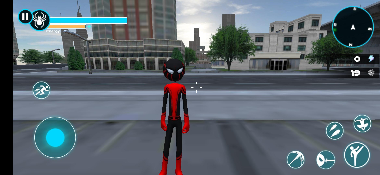 Spider Hero: Stickman Rope Warrior - Imagem 3 do software