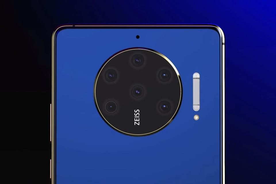 Conceito propõe Nokia 10 PureView com 8 câmeras e tela de 90 Hz