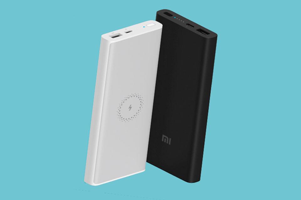 Novo power bank da Xiaomi é barato, funciona sem fio e tem 10.000 mAh