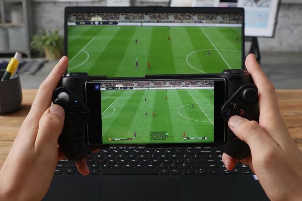 Galaxy Note 10 agora permite jogar os games instalados no PC