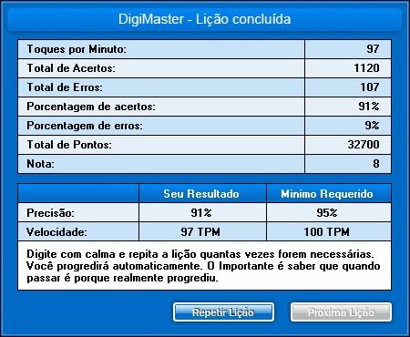 DigiMaster - Imagem 3 do software