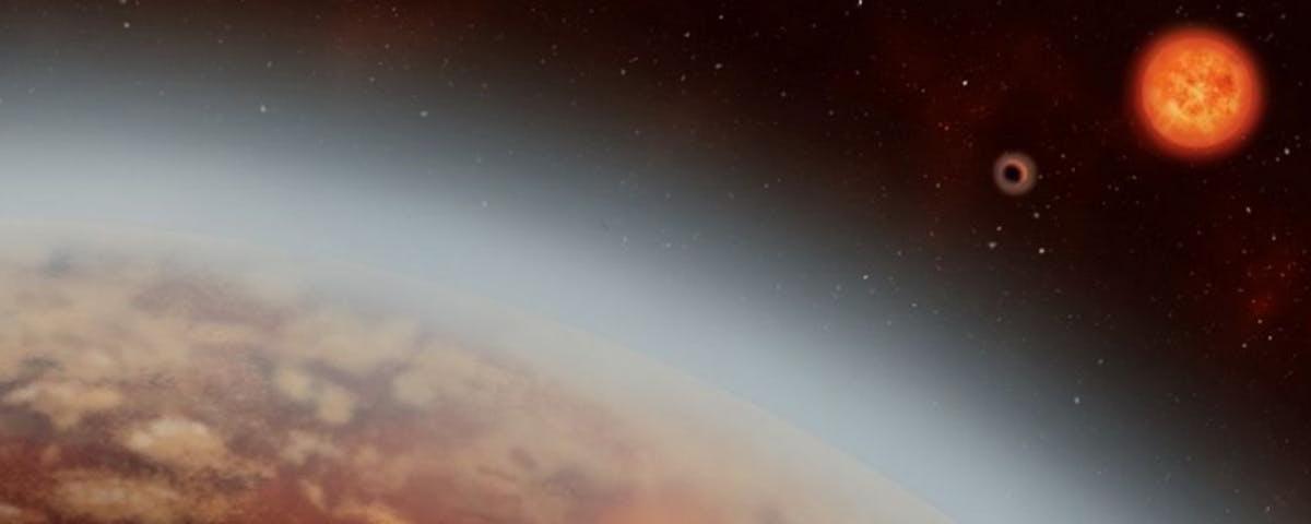 Descoberto exoplaneta onde há vapor de água – e talvez até chova