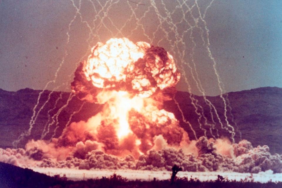 Mapa mostra (quase) todas as explosões nucleares da História